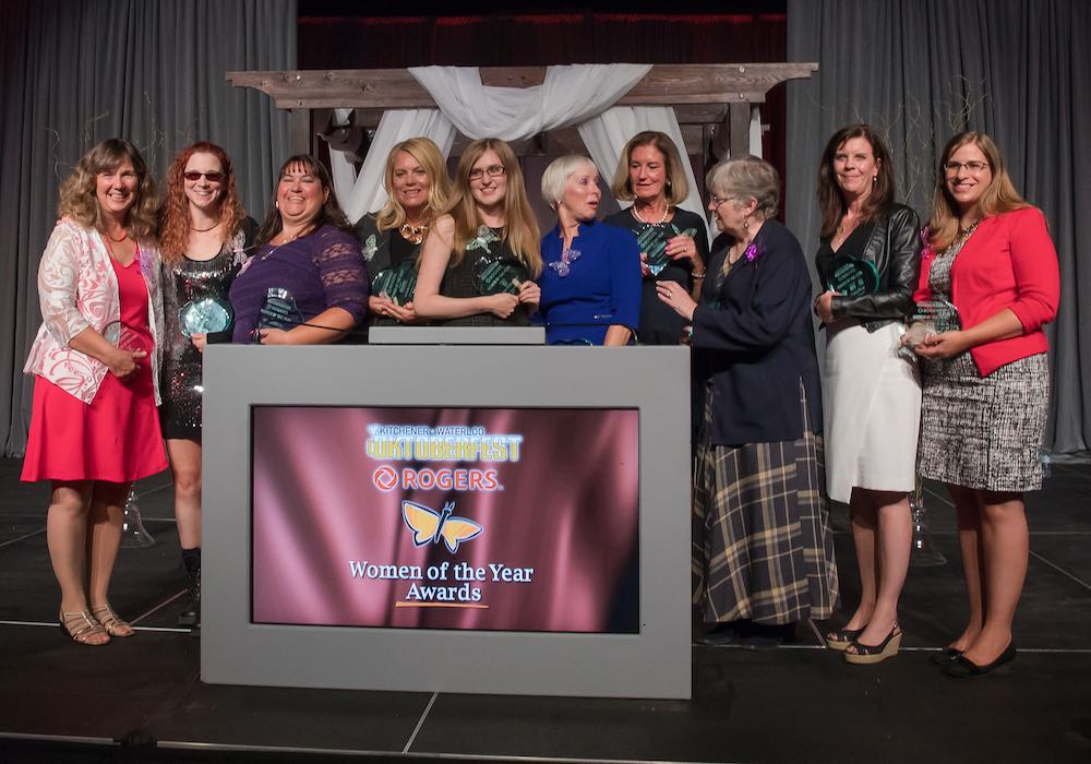 Women of the Year winners