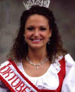 Miss Oktoberfest 2007 Nicole Stuber