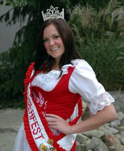 Miss Oktoberfest 2008 Natalie MacNeil