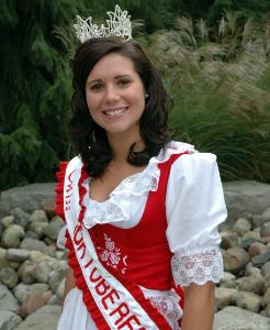 Miss Oktoberfest 2009 Jessica Wulff