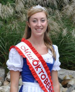 Miss Oktoberfest 2010 Meghan Hennessey