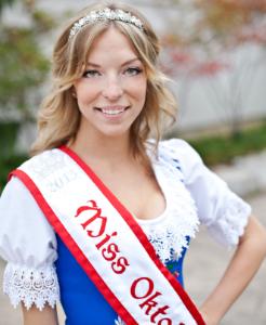 Miss Oktoberfest 2013 Tara Hebblethwaite