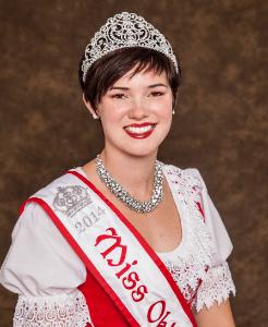 Miss Oktoberfest 2014 Lindsay Kalbfleisch