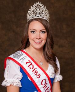 Miss Oktoberfest 2015 Holly Pearson