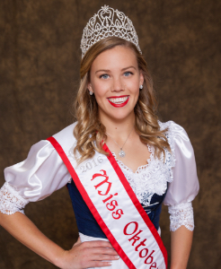 Miss Oktoberfest 2016 Vanessa Buttinger
