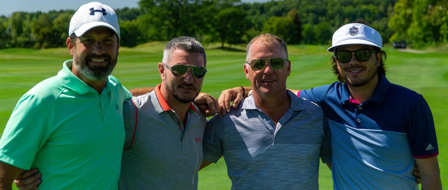 Past participants of Oktoberfest Golf Experience