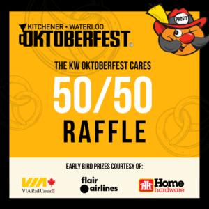 KW Oktoberfest Cares 50/50 Raffle