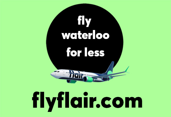 Fly Flair Airlines Ad