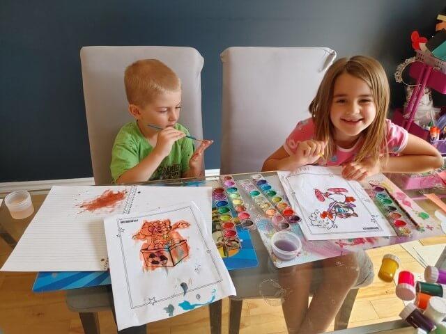 Kids Painting Onkel Hans
